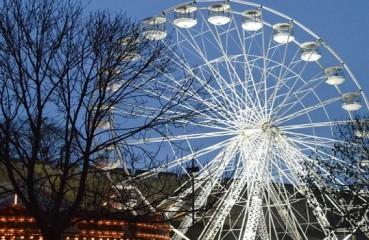 lincoln xmas market big wheel