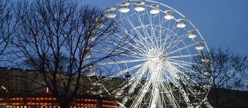 lincoln xmas market big wheel