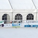 lincoln ice rink - xmas market