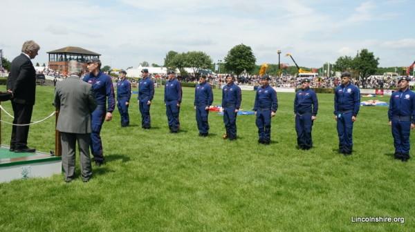 Lincolnshire Show RAF Falcons