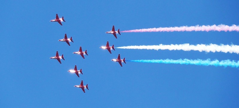 red-arrows-lincolnshire